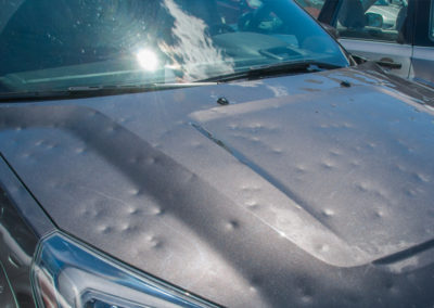 Car Hail Dents